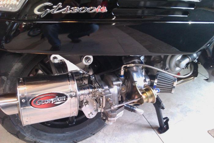 vespa 300 turbo kit